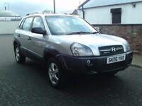 2006 06 Hyundai Tucson 2.0CRTD auto GSI ** AUTOMATIC ** ONLY 32700 MILES **