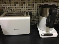 Bosch kettle and toaster