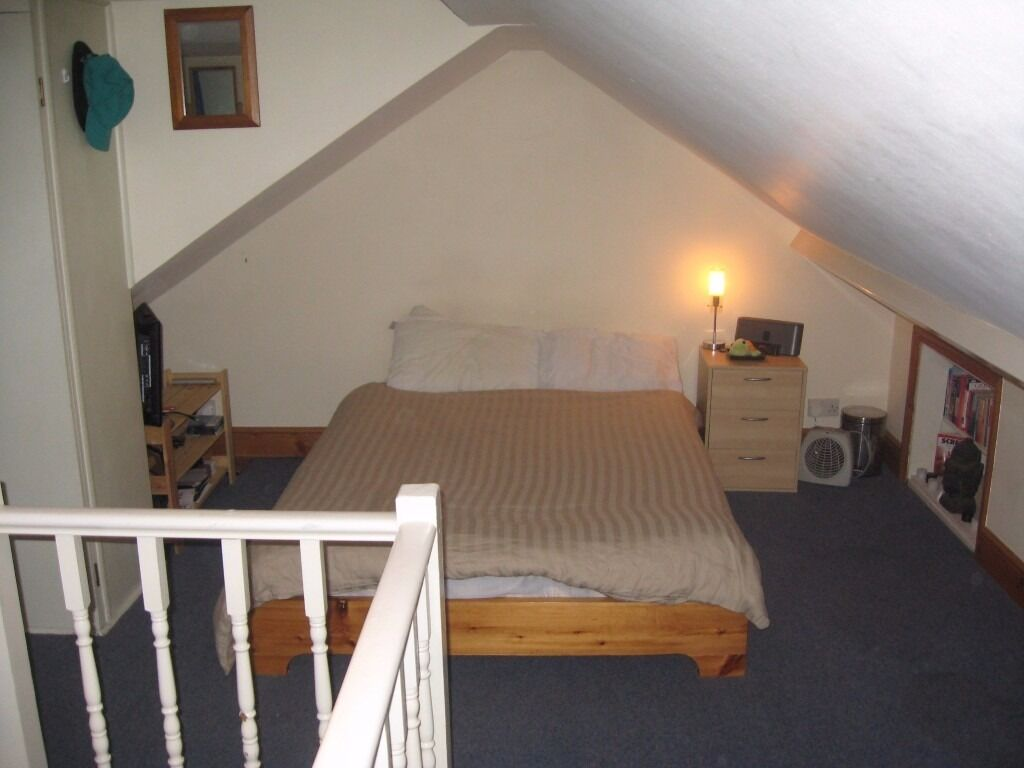 Great double bed loft room