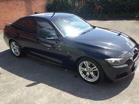 BMW 318d M-Sport (Black)