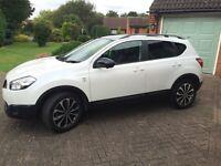 Nissan Qashqai 360 DCI White (Set price for quick sale £8995)