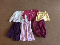 12-18 months girls clothing bundle