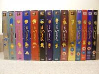 THE SIMPSONS DVD'S, COMPLETE SEASONS ONE-FOURTEEN