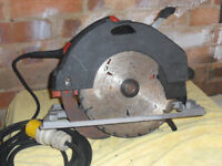 Hilti circular saw. 110volt.good working order.selling by retired builder.