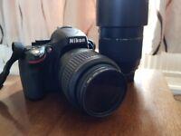 Nikon D5100 DSLR with 2 Lenses + Accessories