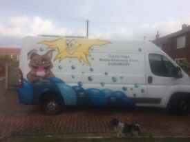 mobile dog grooming business, everything included blackpool