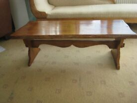 Bespoke Solid Oak Coffee Table