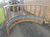 Ritchie cattle horse livestock hay silage bale feeder ring