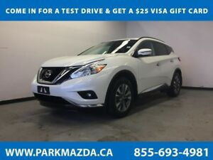 2017 Nissan Murano SV AWD - Bluetooth, Remote Start. NAV, Backup