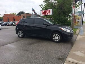2013 Hyundai Accent HATHBACK,AUT0,145K,SAFETY+3YEARS WARRANTY IN