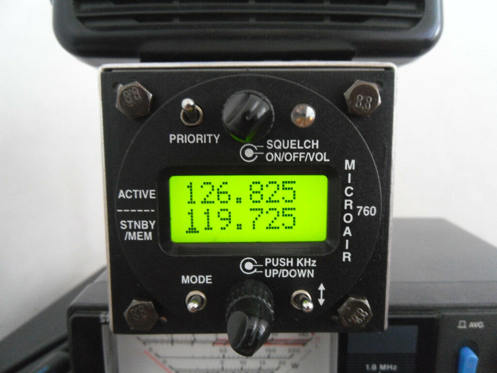Microair 760 aircraft transceiver Airband / scanner/ ham / amateur radio