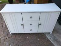 Light grey dresser