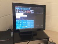 ★ Retail Epos & Touchscreen Pos Till ideal for Dry Cleaners, Laundrette, DIY Shop, Discount Shops