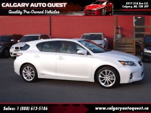 2013 Lexus CT 200h HYBRID/BACK UP CAMERA/LEATHER/ROOF