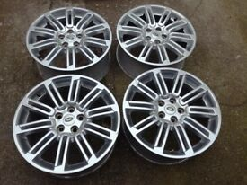Land Rover Discovery 3,4 genuine 20 alloys