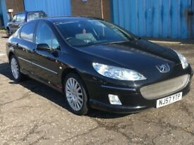 (57) Peugeot 407 GT 2.7 HDI AUTO , mot -April 2019 , only 58,000 miles , bmw,audi,passat,9-3,accord