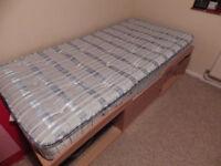 Single Bed - Beech