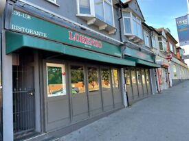 Double fronted restaurant for sale