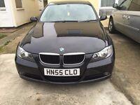 black automatic BMW 3 series 2005