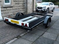 Single Axle 1800Kg Car Transport Trailer, Recently Rebuilt