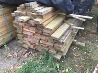 Timber 89 Lengths Of 123mm x 35 mm Unused