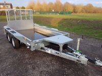 IFOR WILLIAMS TRAILER GX 105 PLANT FARM GARDEN MOTO X QUAD CAR MOWER IVOR MACHINE ROLLER DUMPER