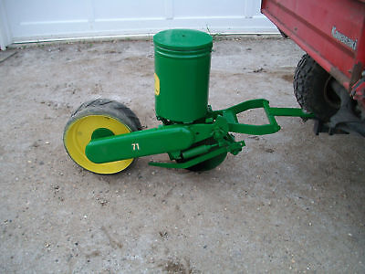 1 John Deere 71 One Row Corn Planter Deer Food Plots Atv Utv