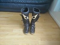 Setup Duo motocross boots size 7
