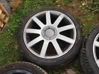 Audi RS4 Style Alloy Wheels 18inch 5x100 Golf BORA LEON Polo Fabia TT
