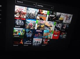 Xbox one cheapest with Loads of games