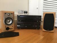 Hi Fi System Comobo - Yamaha CD Player CDC 585 + Yamaha Amp AX-396 + Infinity Alpha 10 speakers