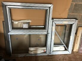 Brand New Anthracite Grey Windows including glass and chrome fittings