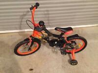 "16"" bike with stabilisers"