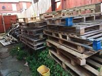 Free pallets and wood free to collect