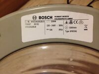 Bosch Washing Machine Silver Door with hinge for WVD24520GB