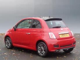 Fiat 500 S (red) 2014-11-28