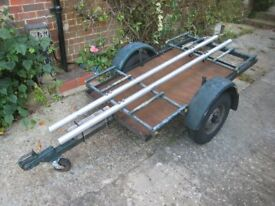 Motorcycle / Bicycles / Flatbed Trailer
