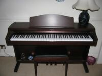 Technics SX-PX662 Digital Piano, mahogany full size 88 weighed keys, superb sound
