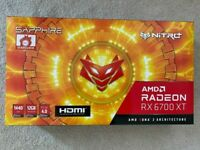 Sapphire Nitro AMD Radeon RX 6700 XT Graphics Card, New Sealed