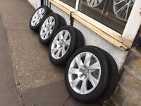 "17"" Audi Volkswagen Skoda Seat Mercedes alloy wheels"