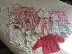 Baby girl summer bundle 0-3 months