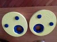 Swimming discs