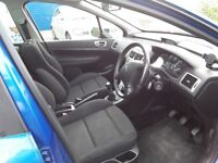 Peugeot 307 SW, 2008, diesel. 106500 miles. All usual refinements, full service history.