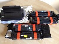Lot of 5x new unmakrked remanufactured Toners