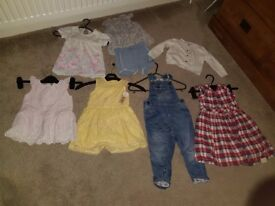 BEAUTIFUL Baby girl clothes bundle 12-18 months