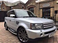 Land Rover Range Rover Sport 4.2 V8 Supercharged 5dr**FULL S/H*6 MONTHS WARRANTY* 2007 (56 reg), SUV
