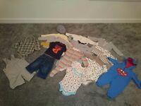 Baby boy bundle. Size 3-6 months