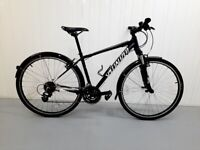 v 🚲🚲 Almost New SPECIALIZED hybrid BIKE 24 Speed Warranty Medium Size Fully Serviced 🚲🚲