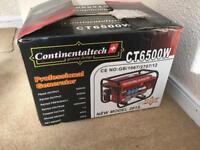 Continentaltech CT6500W - Generator -Brand New