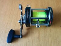 Abu Ambassadeur 7000C Vintage Swedish Classic Multiplier Surf Casting/Boat Fishing Reel